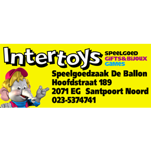 Logo Intertoys de ballon Santpoort-Noord